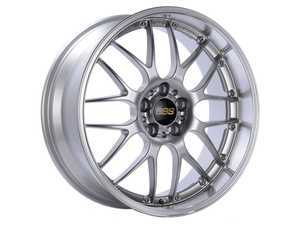 """ES#3537212 - 20srsdspKT - 20"""" RS Wheels - Staggered Set Of Four - 20x8.5 ET15 and 20x10.5 ET22 PFS in Diamond Silver. - BBS - BMW"""