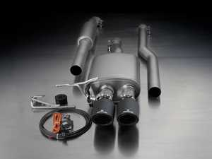 ES#3521936 - 755214 097KT13 - Remus Cat-Back Sport Valvetronic Sport Exhaust System - With 102mm Angled Carbon Tips - Remus Cat-back system - Pure power and perfect sound! - Remus - MINI