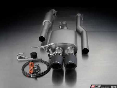 ES#3521917 - 755214 097KT11 - Remus Cat-Back Sport Valvetronic Sport Exhaust System - With 98mm Street Race Black Chrome Tips - Remus Cat-back system - Pure power and perfect sound! - Remus - MINI
