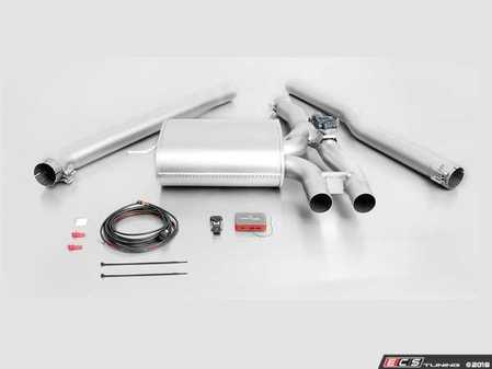 ES#3521515 - 756715 397KT3 - Remus Cat-Back Valvetronic Sport Exhaust System - With 98mm Street Race Black Chrome Tips - Remus Cat-back system - Pure power and perfect sound! - Remus - MINI