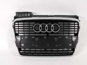 ES#438432 - 8E0853651J1QP - Grille Assembly - Grey - Clean up or change your look - Genuine Volkswagen Audi - Audi