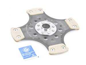 ES#3221290 - 881864001735 - Sachs Performance Clutch Disc - Sintered Metallic  - Sintered rigid clutch disc with metallic facings - For higher torque and horsepower applications - SACHS Performance - Audi
