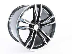 "ES#2912064 - 36112284653 - 21"" M Double Spoke Style 612 Wheels - Priced Each - 21x11.5 ET38 74.1CB - Genuine BMW - BMW"