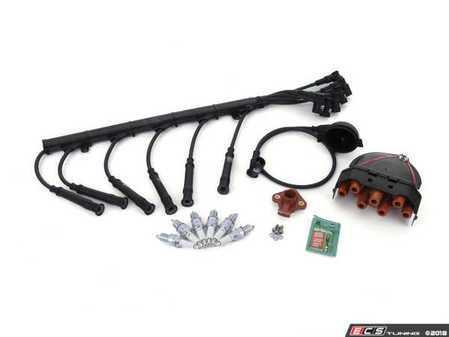 ES#3437860 - 12-7721.8KT - Performance Ignition Service Kit - Includes Turner Motorsport 8mm performance spark plug wires - Assembled By ECS - BMW