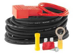 ES#3484177 - 55151 - Powered Converter Wiring Kit - Routes power from vehicle battery to powered converter - Designed for use with battery-powered electrical converters - Curt Trailers - Audi Volkswagen MINI