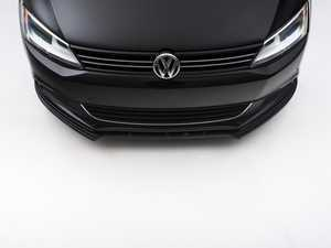 ES#3147358 - VW-JE-6-FD1 - Front Splitter - Textured - ABS plastic splitter that will enhance the look of your vehicle in minutes! - Maxton Design - Volkswagen