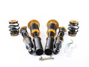 ES#3493626 - B013-1-S - ISC N1 Coilover Kit - Street Sport - A high quality, performance coilover kit at a low cost. Stiffer springs and street sport valving for aggressive street and occasional track use! - ISC Suspension - BMW