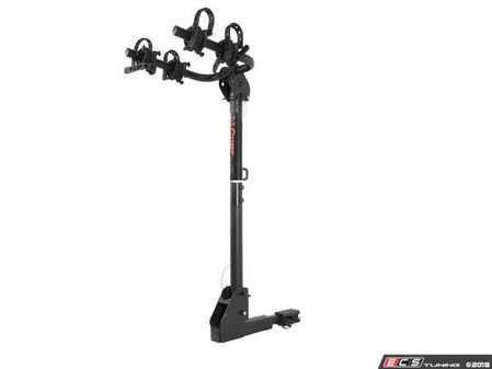 "ES#3483350 - 18029 - Hitch-Mounted Bike Rack - Adapter sleeve allows mounting on either 1 1/4"" or 2"" receiver tube - Curt Trailers - Audi Volkswagen MINI"
