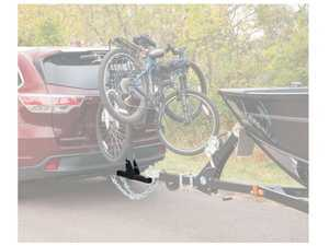 "ES#3483346 - 18008 - Towable Bike Rack Shank - Allows for easy towing of a trailer while using a bike rack - Fits hitches with 2"" receiver tube - Curt Trailers - Audi Volkswagen"