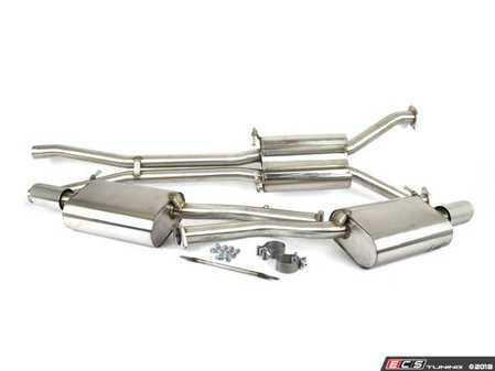 """ES#264044 - FPIM-0540 - Cat-Back Exhaust System - 2.25"""" Stainless steel with dual 3.5"""" tips - Billy Boat Performance - Audi"""