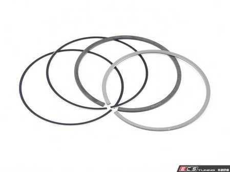 ES#3537049 - 11257566479 - Piston Ring Repair Kit - ( 0 Size ) - Stock size piston ring set - 3 rings - Mahle - MINI