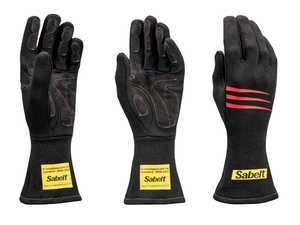 ES#3543543 - SATG3NR - Challenge Racing Gloves - Black - Proper steering wheel grip is crucial in setting good lap times. - Sabelt - BMW