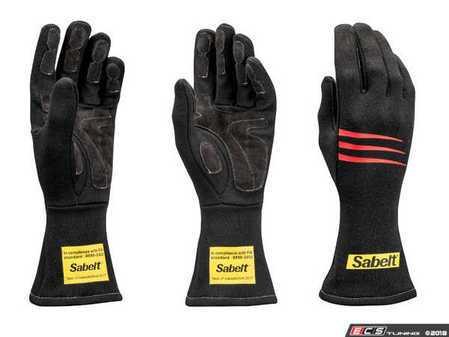 ES#3543543 - SATG3NR - Challenge Racing Gloves - Black - Proper steering wheel grip is crucial in setting good lap times. - Sabelt - BMW