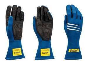 ES#3543540 - SATG3BL - Challenge Racing Gloves - Blue - Proper steering wheel grip is crucial in setting good lap times. - Sabelt - BMW
