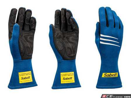 ES#3543540 - SATG3BL - Challenge Racing Gloves - Blue - Proper steering wheel grip is crucial in setting good lap times. - Sabelt - BMW