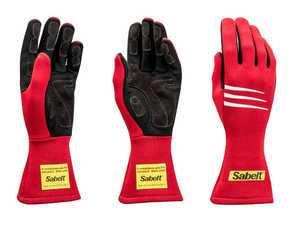 ES#3543538 - SATG3R - Challenge Racing Gloves - Red - Proper steering wheel grip is crucial in setting good lap times. - Sabelt - BMW