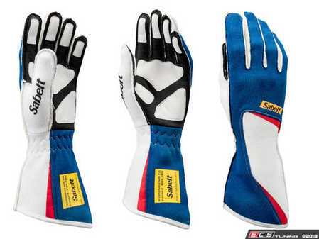 ES#3543536 - SATG7BL - Diamond Racing Glove - Blue - Cutting edge style and design combine to make these gloves a top choice among pro drivers. - Sabelt - BMW