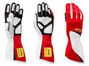 ES#3543535 - SATG7R - Diamond Racing Glove - Red - Cutting edge style and design combine to make these gloves a top choice among pro drivers. - Sabelt - BMW