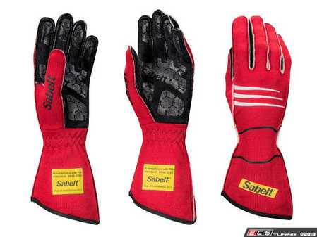 ES#3538367 - SATG9R - Hero Racing Gloves - Red - An extremely comfortable glove that gives you confidence and piece of mind out on the track. - Sabelt - BMW