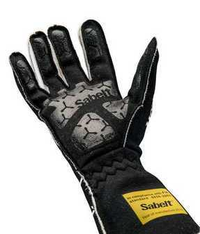 ES#3538365 - SATG9B - Hero Racing Gloves - Black - An extremely comfortable glove that gives you confidence and piece of mind out on the track. - Sabelt - BMW
