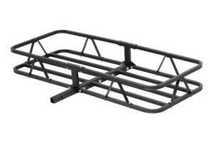 "ES#3483372 - 18145 - Basket-Style Cargo Carrier - Fixed shank with adapter sleeve fits either 1 1/4"" or 2"" receiver - Curt Trailers - Audi Volkswagen MINI"