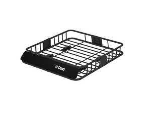 ES#3483370 - 18115 - Roof Rack Cargo Carrier - Mounts to most roof rack crossbars and nearly 11 sq. ft. of usable cargo space - Curt Trailers - MINI