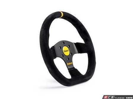 ES#3525593 - RFVO2026 - GT Flat Steering Wheel - D-shaped design with a slightly smaller diameter. - Sabelt - Audi BMW Volkswagen MINI Porsche