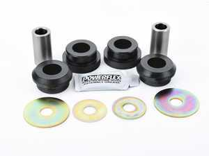 "ES#2651892 - PFR85-513x2 - Performance Polyurethane Rear Upper Control Arm Bushings - Outer - Helps maintain proper suspension geometry for improved handling and less ""rear steer"" feeling - Powerflex - Audi Volkswagen"