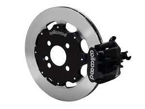ES#3546978 - 140-10885 - Wilwood Dynapro Radial4 / MC4 Rear Kit 11.75 Black - Featuring single piston calipers, 2 piece rotors, stainless brake lines, and performance brake pads - Wilwood - MINI