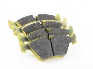ES#3545662 - 129529 - RSL29 Yellow Endurance Racing Brake Pads - Front - Popular street and endurance racing pad. Same friction material used in several European racing series. - Pagid Racing - BMW