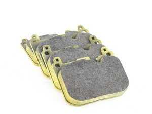 ES#3546116 - 493129 - RSL29 Yellow Endurance Racing Brake Pads - Front - Popular street and endurance racing pad. Same friction material used in several European racing series. - Pagid Racing - BMW