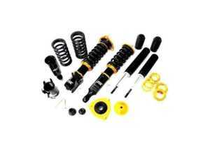 ES#3551258 - B006-1-NRS-S - ISC N1 Coilover Kit - Street Sport - Includse front coilovers & rear shock - intended to maintain your factory rear air suspension. Stiffer springs and street sport valving for aggressive street and occasional track use. - ISC Suspension - BMW