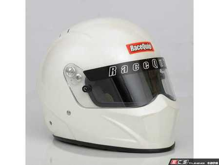 ES#3521625 - RQMATRIXVFF - Matrix VESTA15 SA/FIA Full Face Helmets - Pearl White - Lighter weight and a stronger shell for added comfort and protection. - Racequip - Audi BMW Volkswagen Mercedes Benz MINI Porsche
