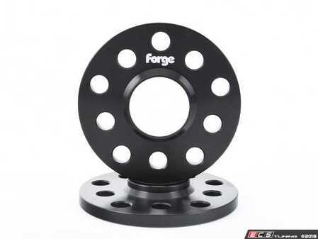ES#3509305 - FMWS11 - Forge Wheel Spacers - 11mm (Pair) - Pair of 11mm anodized black 5x100/5x112 wheel spacers - Forge - Volkswagen
