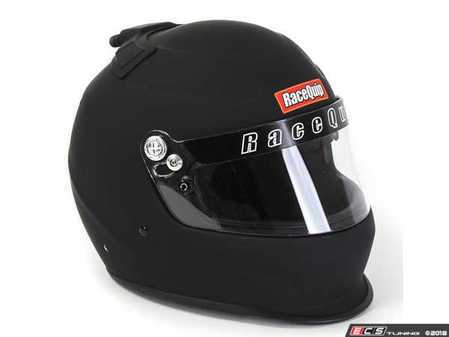 ES#3521898 - RQPRO15FFTAIRB - PRO15 Top Air Helmets - Flat Black - A traditionally styled helmet with modern production techniques and materials for the utmost safety. Features a top inlet for fresh air flow! - Racequip - Audi BMW Volkswagen Mercedes Benz MINI Porsche