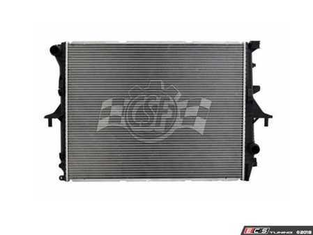 ES#3545353 - 3554 - Radiator - Fix leaks and keep your cooling system efficient - Featuring OEM specified Plastic Tank/Aluminum Core Construction - CSF - Audi Porsche