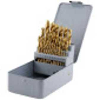 ES#3551261 - MTNDBS29C - 29 Piece Titanium Drill Bit Set - (NO LONGER AVAILABLE) - Complete set of Drill bits in a metal index box. - Mountain -