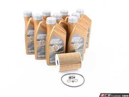 ES#2578578 - E965SVCKT - Castrol TWS Oil Change Kit / Inspection I - Everything needed for a complete oil service including TWS Edge Supercar oil and an OEM Mahle filter - Assembled By ECS - BMW