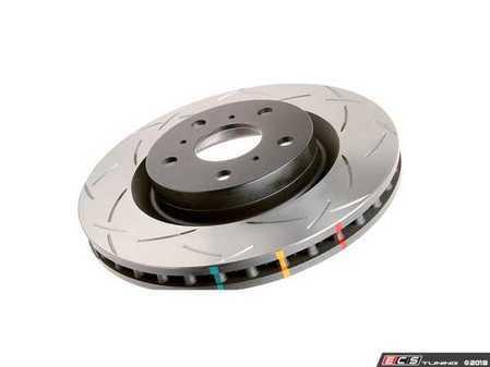"ES#3551376 - 42524SKT - DBA Front T3 Slotted Brake Rotors - Pair 11.57"" (294x22) - 4000 Series Tri-Symmetrical curve slot rotors with black hubs - DBA - MINI"