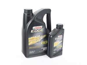 ES#3499518 - 06249KT - Castrol Edge European Formula 5W-40 - 6 Quarts - Meets VAG 502.00/505.00 specification - Castrol -