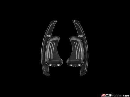 ES#3551442 - PA002B - Leyo V2 Billet Paddle Shifter Extensions - Black - High Performance Billet 6061 T6 Aluminum paddle extensions - LEYO - Audi