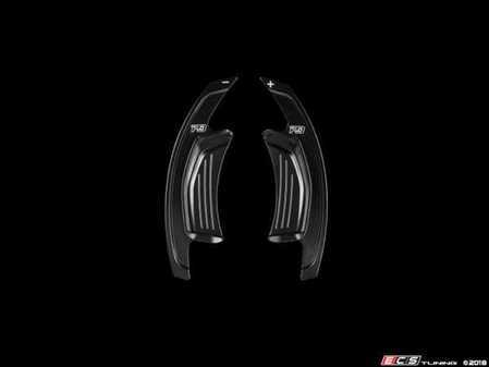 ES#3551445 - PA003B - Leyo V3 Billet Paddle Shifter Extensions - Black  - High Performance Billet 6061 T6 Aluminum paddle extensions - LEYO - Audi