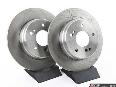 ES#2588167 - 2034230112BALKT - Rear Brake Rotors - Pair - Includes Rotors For Left And Right Sides - Does Not Include New Rotor Hold Down Screws - Balo - Mercedes Benz