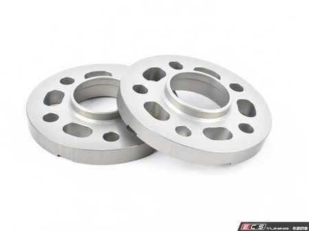 ES#3476434 - 021460TMS03-05 - 17.5mm Wheel Spacers - Silver (Pair) - Lightweight wheel spacers with a machined tab for easy removal - Turner Motorsport - Audi BMW Mercedes Benz MINI Porsche