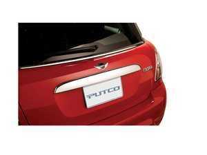ES#3551616 - 403618 - Trunk Grip Handle Cover - Chrome  - Attaches over the factory trunk grip handle - Putco - MINI