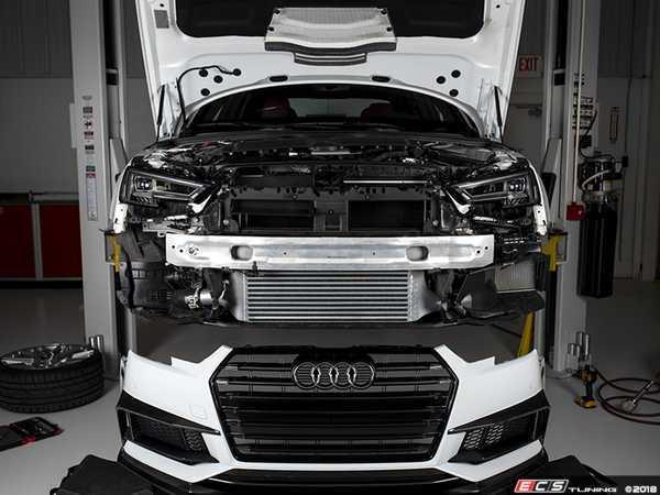 New! ECS B9 S4 Front Mount Intercooler Upgrade - AudiWorld