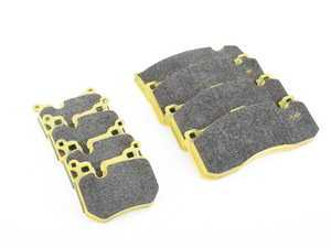ES#3551066 - 80848085rsl29KT - RSL29 Yellow Endurance Racing Brake Pads - Front And Rear - Popular street and endurance racing pad. Same friction material used in several European racing series. - Pagid Racing - BMW