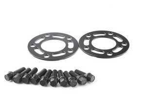 ES#3028410 - TMS301279 - Turner Motorsport Black Wheel Spacer & Bolt Kit - 5mm - Lightweight wheel spacers with a machined tab for easy removal - Turner Motorsport - BMW