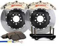 ES#3543995 - SPT.V5.5118.NIA - Triton Front Big Brake Kit (380x34) - Nickel Alloy - Featuring Triton 6-Piston forged and nickel-plated calipers, with high quality 2-Piece Pegasus rotors for optimal braking, on and off of the track! - Sparta Evolution - Audi