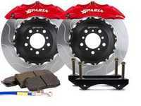 ES#3543685 - SPS.V5.5103.PRD - Front Big Brake Kit - 355x32x62  - Featuring 2-piece rotors and 4 Piston-A powder coated calipers - Red - Sparta Evolution - Audi Volkswagen